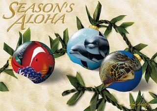 12 Hawaiian Holiday Card Hawaii Christmas Seasonaloha