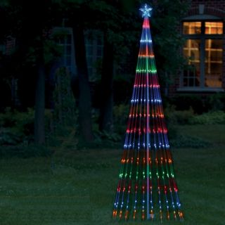Outdoor Christmas LED Light Show Tree 6 Multi Lights