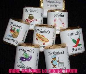 Fiesta Cinco de Mayo Mexican Spanish Nugget Candy Wrappers Labels