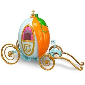 Disney Princess Cinderella 12 Doll and Big 16 Carriage Pumpkin 12