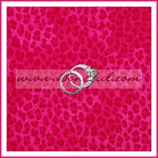 BOOAK Fabric Quilt Pink Leopard Chita Animal Cotton