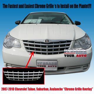 Chrysler Sebring Chrome Grille Factory Style 2007 2010