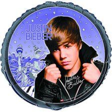 Justin Bieber Latex Birthday Party Mylar Foil Balloon Decorations