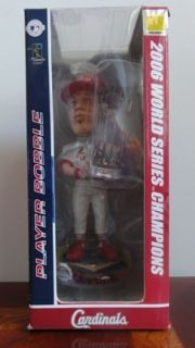 Cardinals Baseball Bobblehead Chris Carpenter 2006 World Series