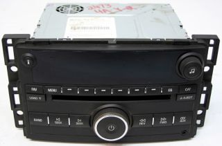 2007 2008 Chevy HHR Factory Stereo 6 Disc Changer MP3 CD Player Radio