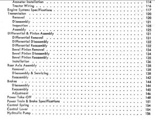 Massey Ferguson Dealer Shop Service Manual TE 20 to 20 TO30 MF TE20
