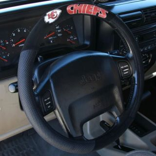 click an image to enlarge kansas city chiefs black steering wheel