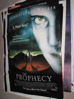12 Movie Posters The Minotaur Night Caller Prophecy Christopher Walken