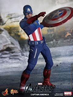 The Avengers 2012 Captain America Chris Evans Marvel 1 6 New