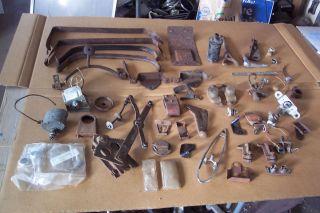 37 1937 38 1938 Chevy Chevrolet car parts lot brackets trim Master