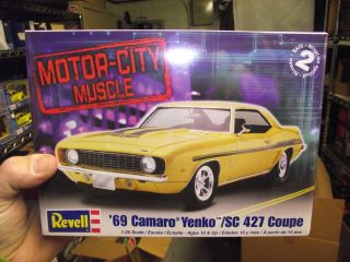 Revell 1969 Chevy Yenko Camaro Model Kit