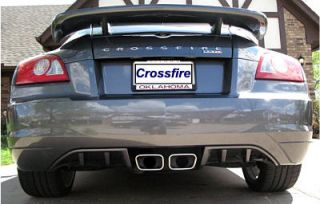 Chrysler Crossfire (2005 2008) Rear Fascia Accent Panels   2pc HCA
