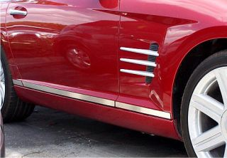 Chrysler Crossfire Stainless Body Trim Kit Acc CFBT105