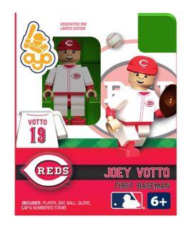 Votto OYO Mini Fig Figure Lego Compatible Cincinnati Reds NIP