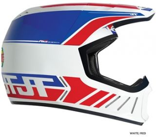 see colours sizes jt racing als2 full face helmet white red 2012 now $