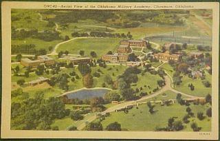 Aerial View Oklahoma Military Academy Claremore OK PC