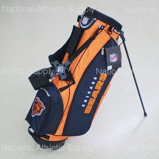 wilson chicago bears nfl carry stand golf bag new