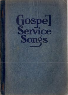 1938 Rodeheaver Hall Mack Gospel Service Songs