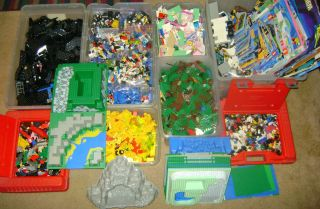 HUGE LEGO LOT*WARNING THIS AWESOME LEGO LOT IS NOT FOR THE WEAK OF