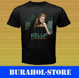 New Kelly Clarkson Breakaway Tour Black T Shirt Size s M L XL 2XL 3XL