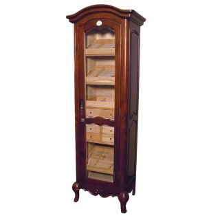 Antique Style Humidor Cabinet with Shelves 3000 Cigars