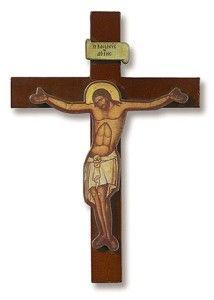 Cimabue Cross Crucifix Wooden Wood Wall Cross Christian Wood 5