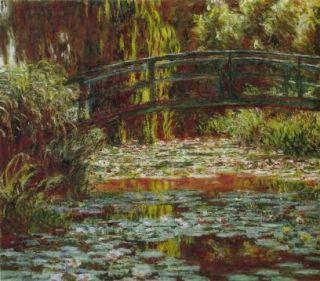 Large Reproduction Claude Monet Canvas Oil Paintings