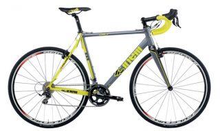 cinelli zydeco 13 complete bike xl 59cm grey yellow