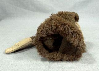 Antique German Steiff Jocko Monkey Chimp Ape Straw Stuffed Mohair Hand