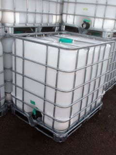 Clawson Schultz IBC 275 gallon tote, storage tank or liquid storage