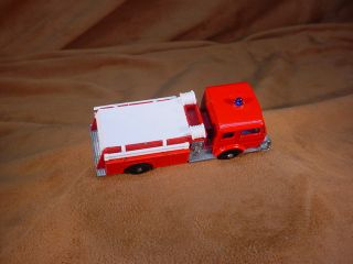 1960s MATCHBOX #29 FIRE PUMPER TRUCK Lesney Diecast NICE EXAMPLE!