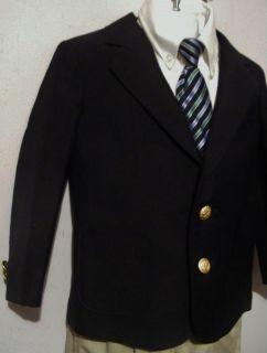 4R Boys CLASS CLUB DILLIARDS Navy Blue Blazer Sport Coat Jacket 2