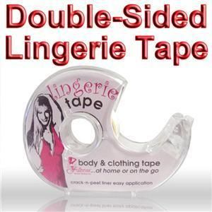 Double Sided Lingerie Tape Fashion Body Clothing Clear