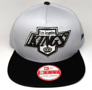Fitted Snap Back Hat Cap Classic Los Angeles La Kings Hockey