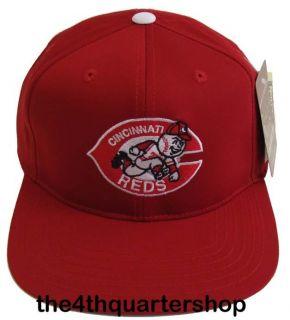 Cincinnati Reds Throwback Logo Retro Snapback Cap Hat Rose Morgan