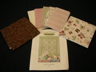 Just for Baby Bunny Hill Designs Quilt Kit w Itty Bitty Bella Marcus