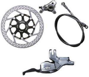 Shimano XTR Disc Brake & Shifter Rear M965