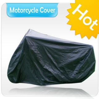 Motorcycle Cover Universal Fit Street Bikes All Weather Protection