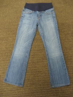 Citizens of Humanity Maternity Jeans Kelly Bootcut Colorado Blue Size