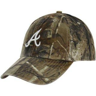 47 Brand Atlanta Braves Real Tree Camo Cleanup Adjustable Hat