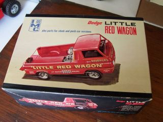 Vintage IMC Dodge Little Red Wagon Truck Model Kit WBX