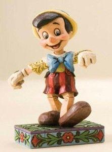 Jim Shore Disney 4010027 Pinocchio Figure Lively Step