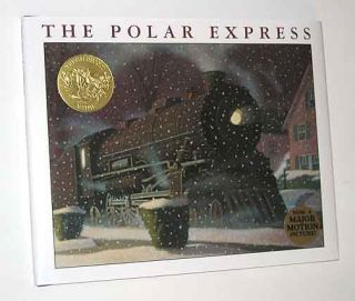 Chris Van Allsburg The Polar Express Signed Copy Beloved Christmas