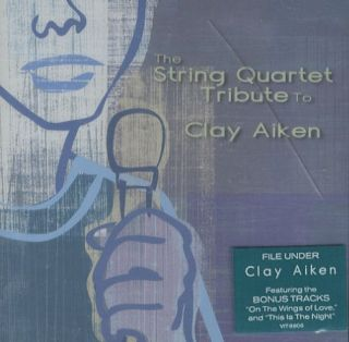 Clay Aiken The String Quartet Tribute to CD USA