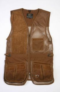Top Gun Rio Mesh Clay Pigeon Shooting Skeet Vests Green or Brown Many