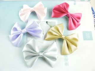 New Bowknot Style Hair Bows Clips Girl Hair Accessories