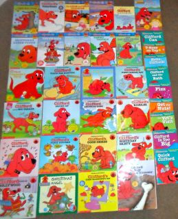 Teacher Lot 27 Clifford Big Red Dog Norman Bridwell and 9 Phonics