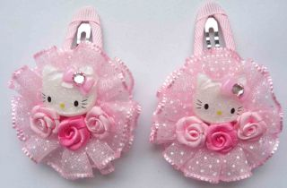 Flower Color Baby Girl Hair Clip Pin Bow 2 inch Wholesale 5