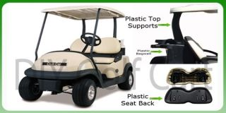 Club Car Precedent Golf Cart Split Windshield Clear Flip and Folding