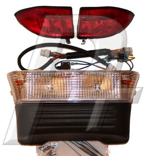 Club Car Precedent Golf Cart Headlight and Tail Light Kit Electric
